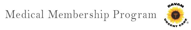 Medical Membership Program